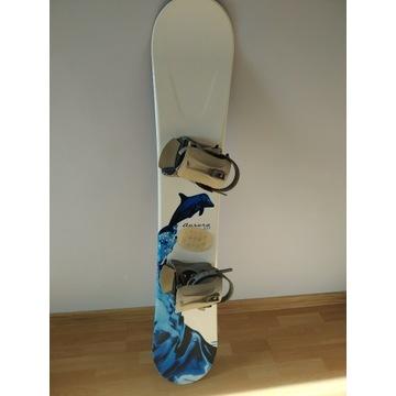 Deska snowboardowa Elan 151 + wiązania CrazyCreek