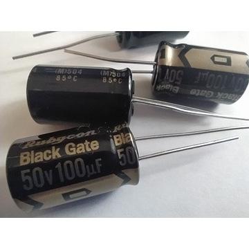kondensator Black Gate STD 100uf 50V 1szt