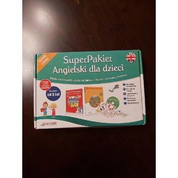 Super pakiet Angielski dla dzieci Edgard + GRATIS