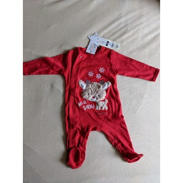 Cool Club, Pajac niemowlęcy roz 62, renifer