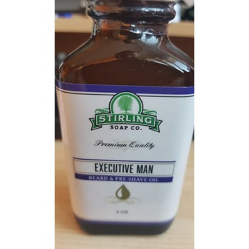 Olejek do brody Stirling Executive Man (3oz 90ml)