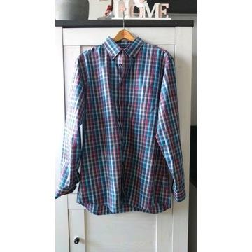 Walbusch męska koszula kratka