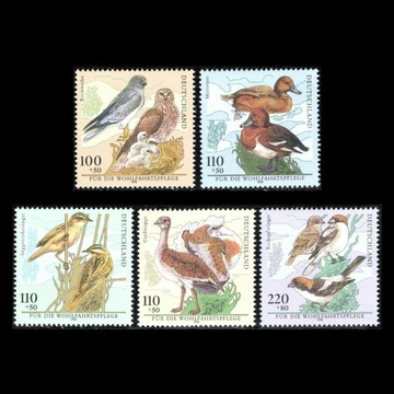 Ptaki Mi 2015 -2019** Niemcy 1998 rok
