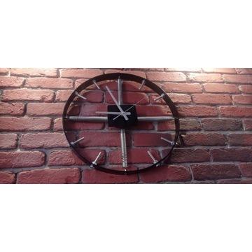Zegar loft industrial