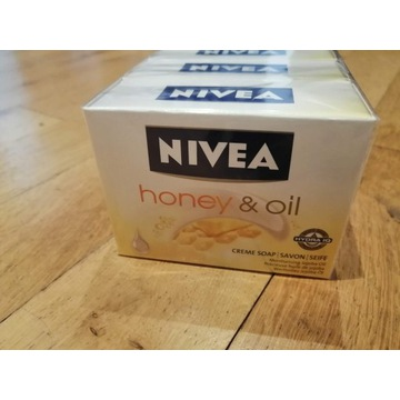 Mydło Nivea różne rodzaje Lemon, Honey, Almond