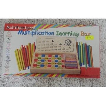 Zabawka zestaw do liczenia tabliczka mnożenia