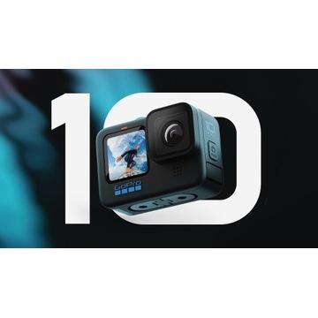 OKAZJA GoPro HERO 10 BLACK+MEGA Zestaw Akcesoriów