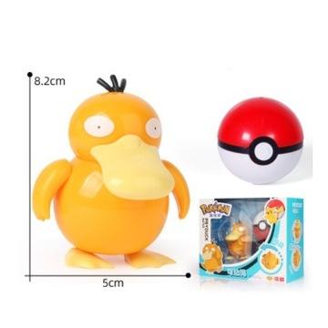 Pokeball Clip Składana figurka Pokemon Psyduck