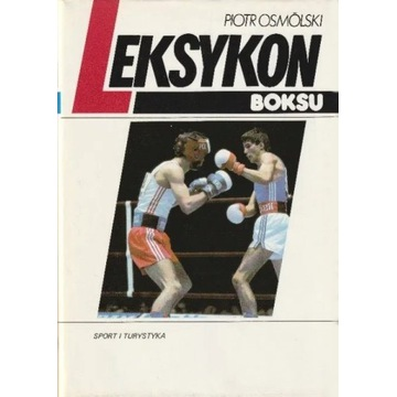 Osmólski Piotr Leksykon Boksu 1989