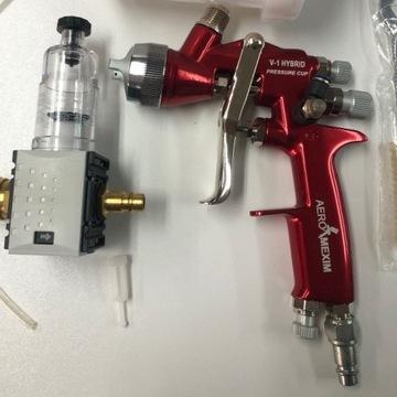Pistolet lakierniczy AEROMEXIM V-1 Hybrid Pressure