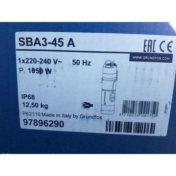 OKAZJA Pompa zatapialna SBA 3-45 A Grundfos