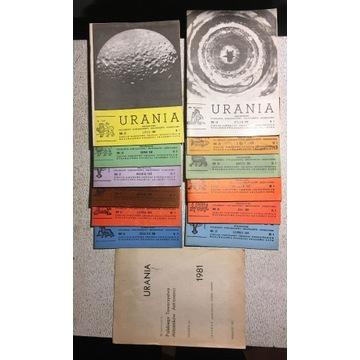 URANIA - archiwalne roczniki (1981 do 1992)