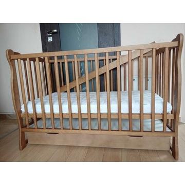 Łóżeczko dziecięce Julia sofa 120x60 materac