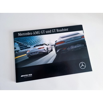 Prospekt Folder Mercedes-AMG GT i GT Roadster [DE]