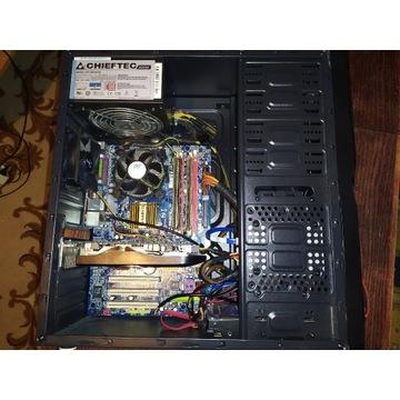 Komputer Q9550, HD5570 1GB, 6GB RAM HDD-500GB 500W