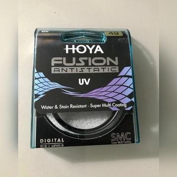 Filtr UV Hoya Fusion Antistatic UV filtr 49 mm
