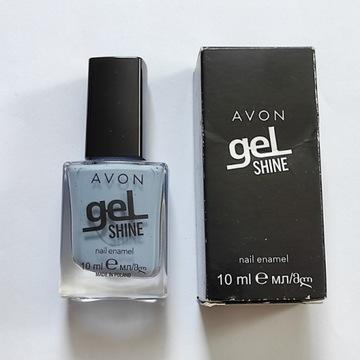 Lakier żelowy paznokci Avon Gel Shine Blue me away