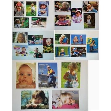 Pocztówki z dziećmi -zestaw25szt - Edycja Św Pawła