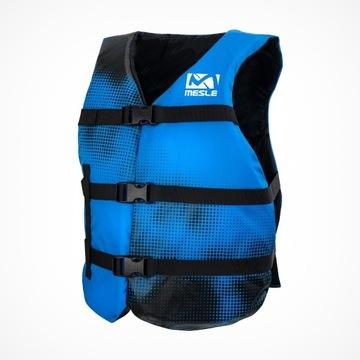 niebieska kamizelka uniwersalna nylonowa od 40 kg