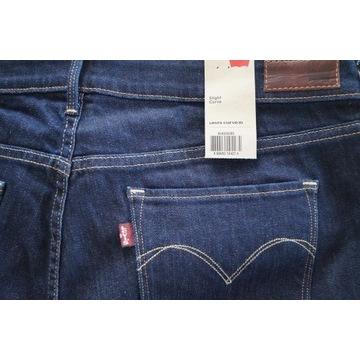 Spodnie jeansy LEVI'S 33x32 Slight Curve