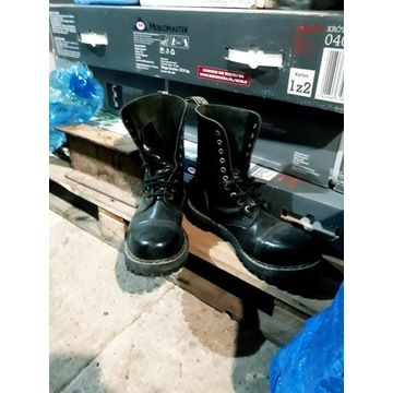 Glany steel 45 . 105 / 106 .czarne bdb