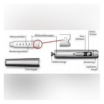 ClikStar wstrzywiwacz do insuliny
