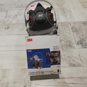 Maska Półmaska 3M 6300 L Ochrona Korona wirus
