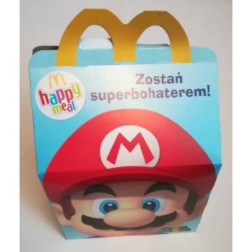 Opakowanie Super Mario Bros. Nintendo McDonald