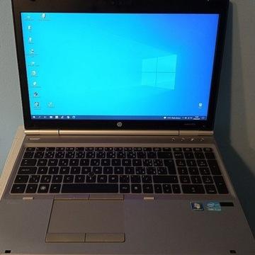 laptop biznes e-szkoła HP EliteBook 8570p i7-3520M