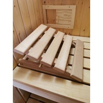 Podgłówek / zagłówek do sauny