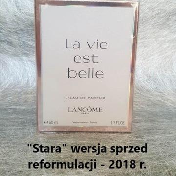 La Vie Est Belle Lancome EDP 50 ml - STARA WERSJA