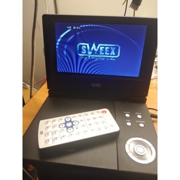 odtwarzać LCD Dvd stan bdb z pilotem i zasilaczem