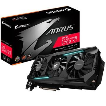 Aorus RX 5700 XT 8GB 4 Lata Gwarancji NOWA!