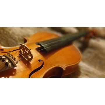 Koncertowe skrzypce lutnicze