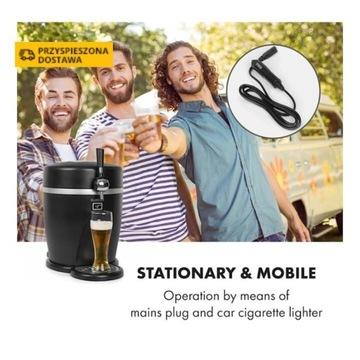 Tap2Go mobilny dystrybutor piwa 2 w 1 z lodówką