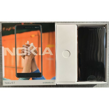 Nokia 6.1 DS 3/32GB AndroidOne - nowa P-ń