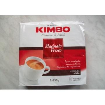 Kawa Kimbo Macinato Fresco z Włoch. 250g