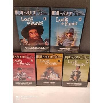 Luis de Funes 5 filmów DVD Mega okazja!