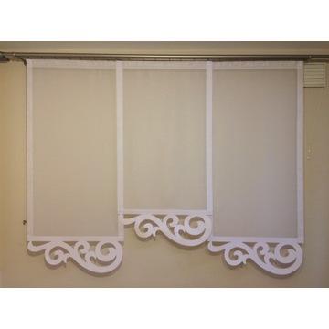Panel - dekoracja okienna Ażury - Bożena