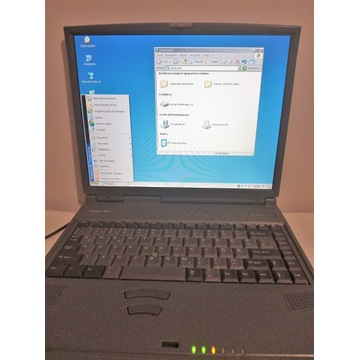 Laptop Toshiba Tecra 8000 Sprawny Stary Retro