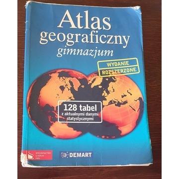 Atlas Geograficzna Gimnazjum Wydanie Rozszerzone