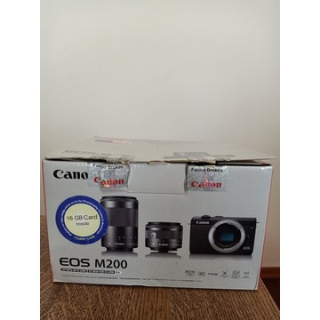 Canon EOS M200 15-45mm IS + 55-200