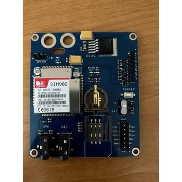 Moduł Sim908 GPS+GPRS do projektów DIY