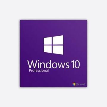 Windows10 PRO PL 64/32bit  Klucz Professional HIT!
