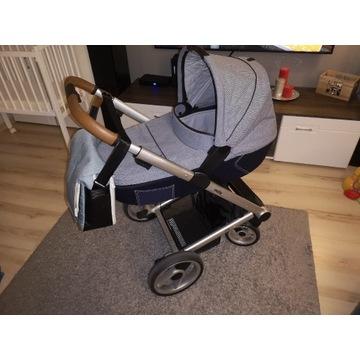 Wózek dziecięcy mutsy i2 3w1 plus dodatki