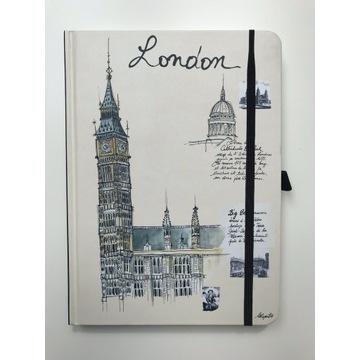 CITY notes London teNeues A5 notatnik turysty