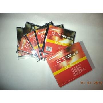 Płyty OMEGA CD-R 700 MB  80 min. 5 sztuk