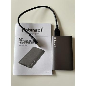 Dysk zewnętrzny SSD Intenso Super Speed 256GB