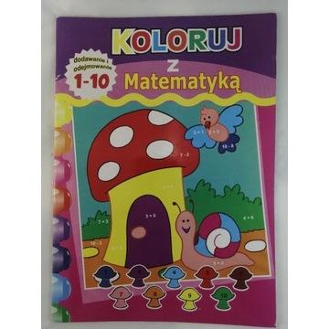 Kolorowanka Malowanka Koloruj z Matematyką