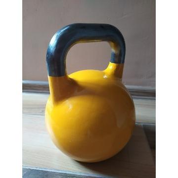 Kettlebelle 16 kg żółty